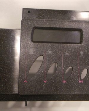 Saeco Kaffeemaschine Tastaturgehäuse bedruckt Schwarz Saeco Royal Digital