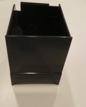 Kaffeemaschine Saeco Salzschublade schwarz/metallic