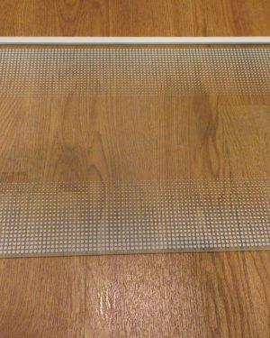 Glasplatte groß bedruckt für Gemüsefach Liebherr KE 1634 Index 22 / 001 GEBRAUCHT