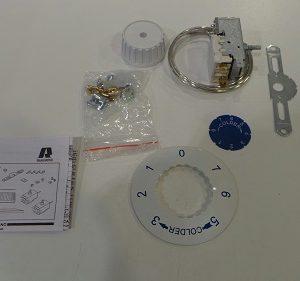 Thermostat Ranco mit Einbau Kit Bauknecht KDI 2412/B
