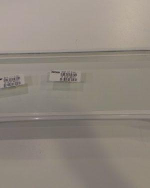 Glasplatte Rahmen weiß