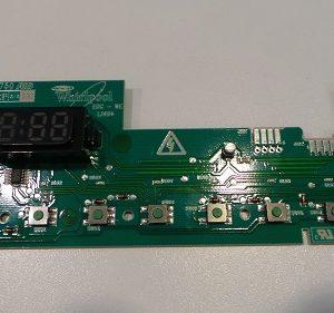 Modul Display für Baunkecht Waschmaschine WAK 90Years, auch Bauknecht Trockner TRWP 7650