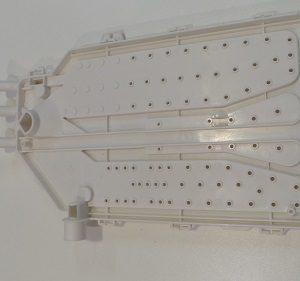 Deckel für Waschmittelschublade für Waschmaschine Candy GV 138D3/1-8 31006229