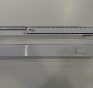 Auszugssschiene groß GEBRAUCHT, links + rechts für Kühl/Gefrierkombination Siemens KI39FP60/01