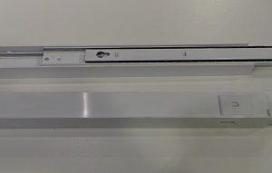 Auszugssschiene groß, schmal GEBRAUCHT links + rechts für Kühl/Gefrierkombination Siemens KI39FP60/01