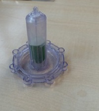 Kappe für Salzbehälter GEBRAUCHT für Geschirrspülmaschine Miele G 579 SC