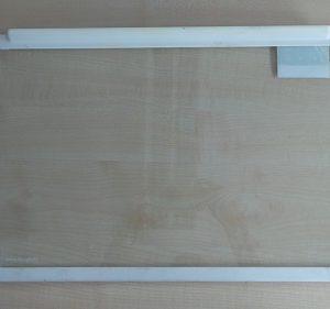 Glasscheibe mit Halter von Privileg geeignet für Kühlschrank 5140744