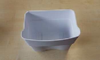 Gemüseschale klein von Ignis geeignet für Kühlschrank ARL 537/A+