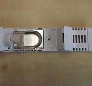 Gehäuse mit Lampenfassung von Liebherr geeignet für Einbau-Kühlschrank EK 1710-20G