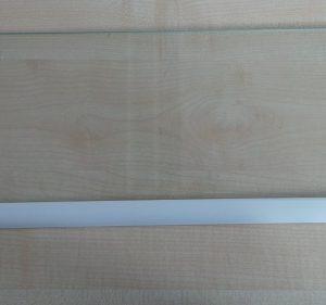 Glasablage mit Leiste für Küppersbusch Kühl-Gefrierkombination IKE 230-1 GEBRAUCHT